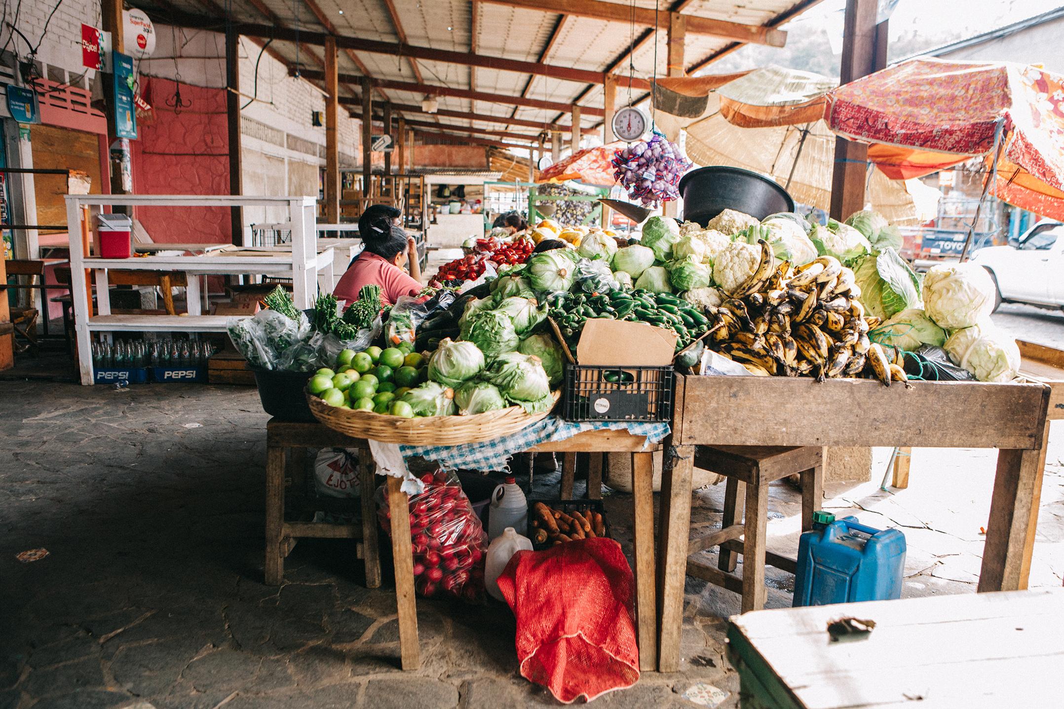Market, El Salvador