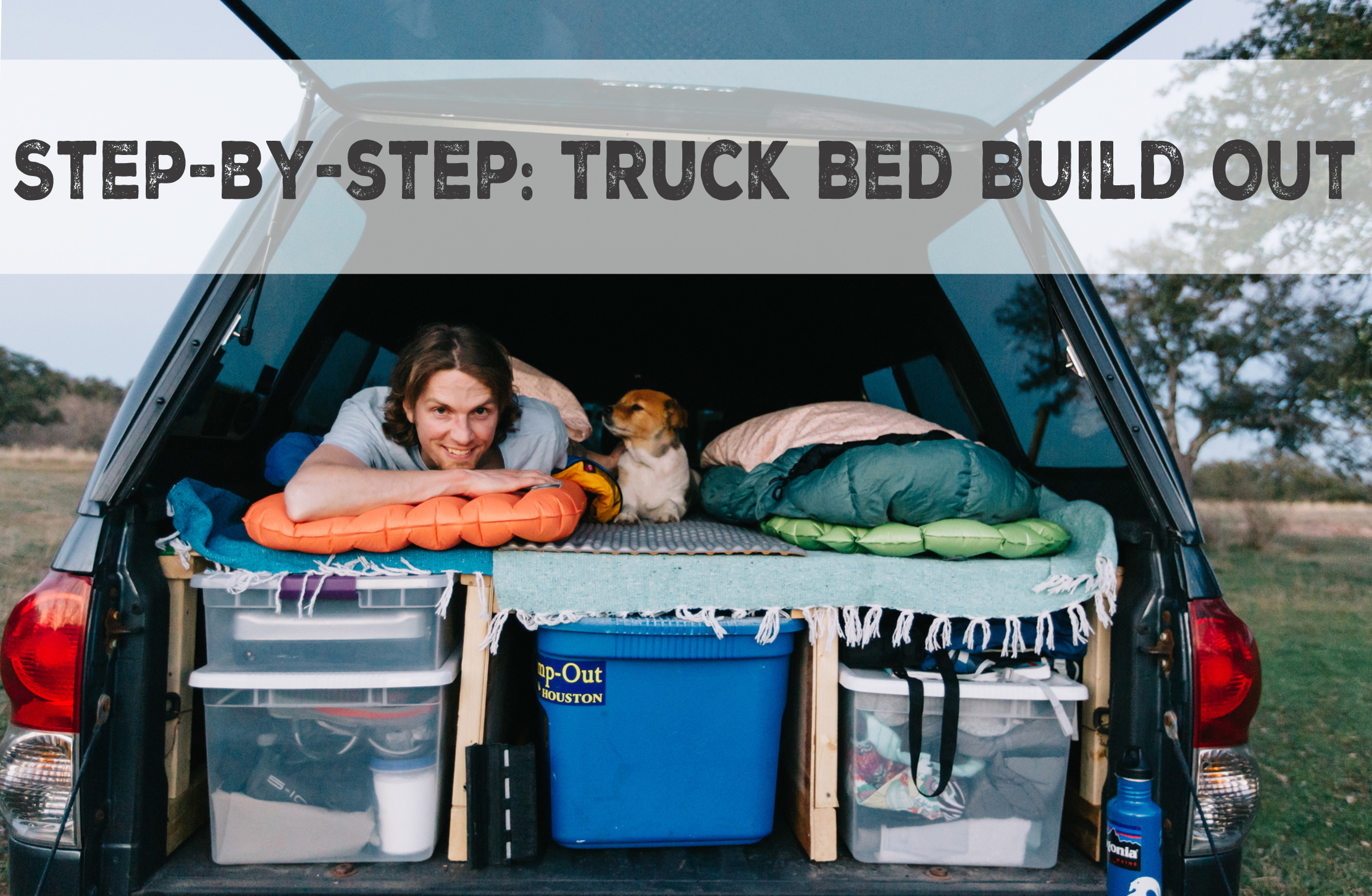 Diy Truck Bed Build Out Cindy Giovagnoli