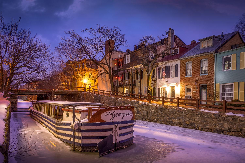 The Georgetown barge, Washington DC, 2015