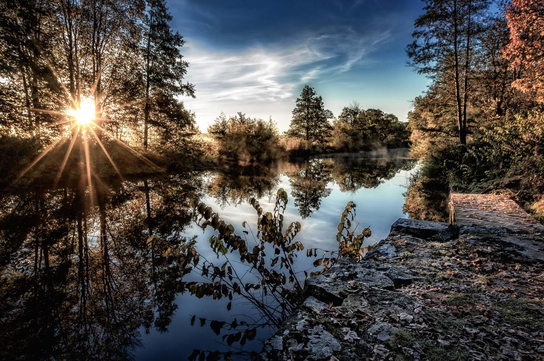 Fyris river, Uppsala, October 2015