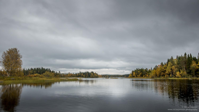 Handsjön. Jämtland, Sweden, September 2017