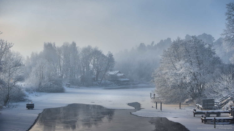 Flottsund, Uppsala, January 2018