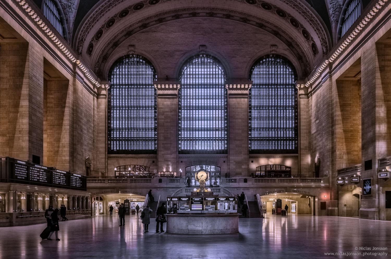 Grand Central Station, New York, USA, January 2014