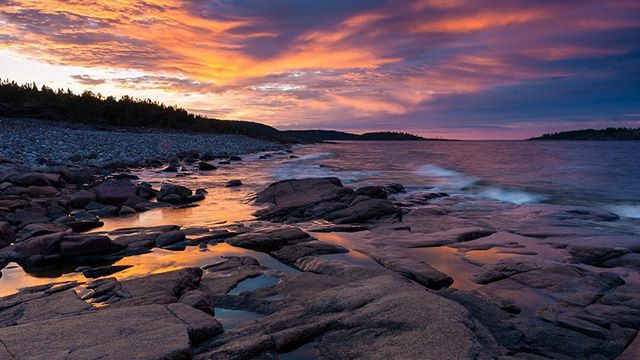 Rotsidan at world heritage Höga Kusten ⠀ ⠀ #sunrise #sunrise_sunsets_aroundworld #pentax #rotsidan #högakusten #worldheritage #sweden #ångermanland #västernorrland
