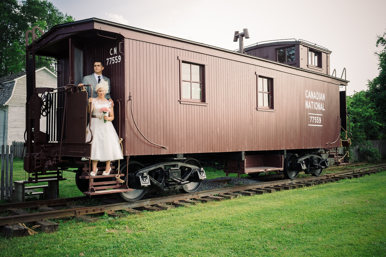 Wedding - Cumberland Heritage Village Museum.