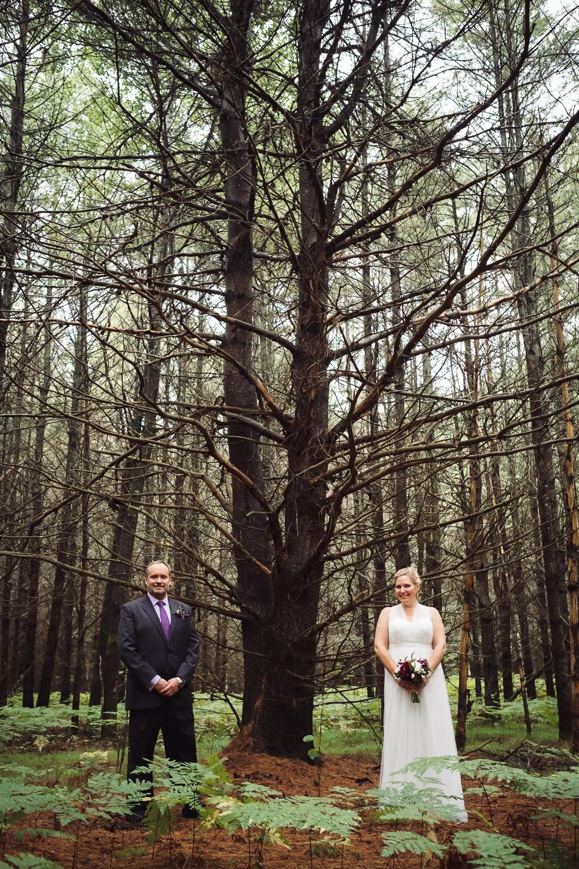 Wedding - Lac Sinclair in La Peche.