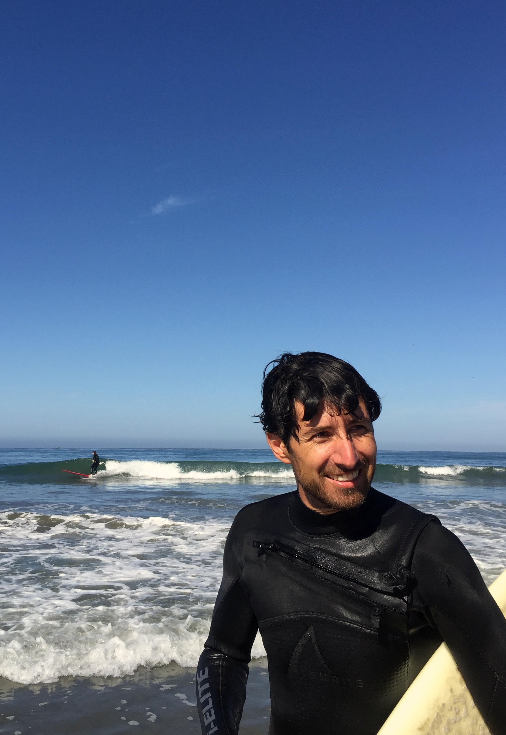 Also post-surfing pictures: palpable bliss.