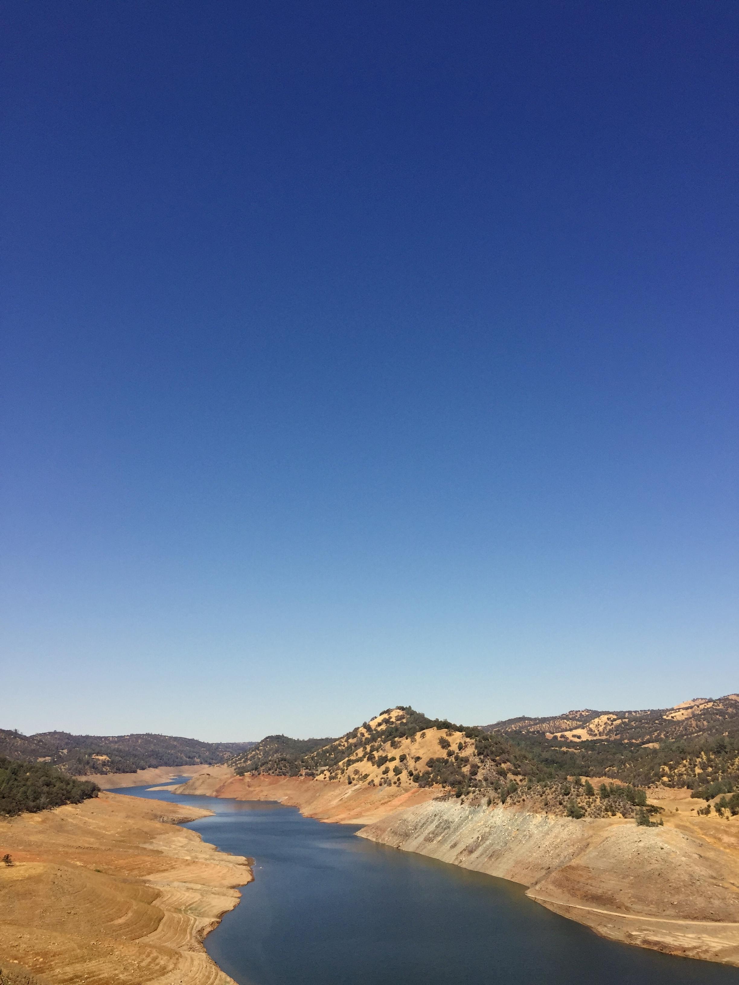 Diminished reservoir.