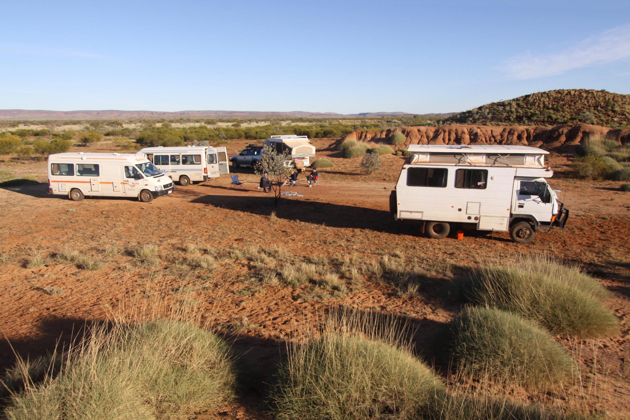 Bush camping in the Pilbara, WA.JPG