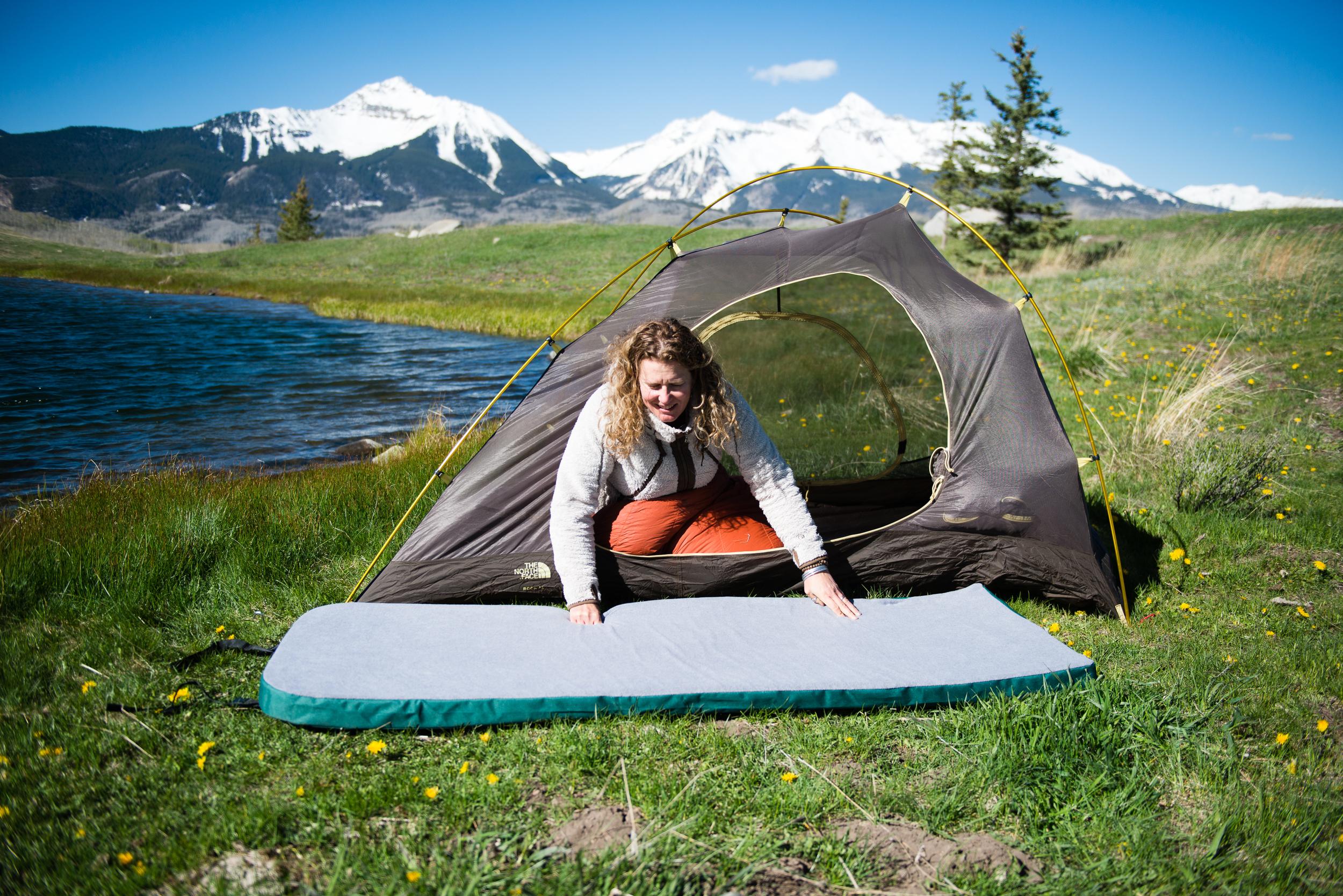 Memory Foam Camping Mattress