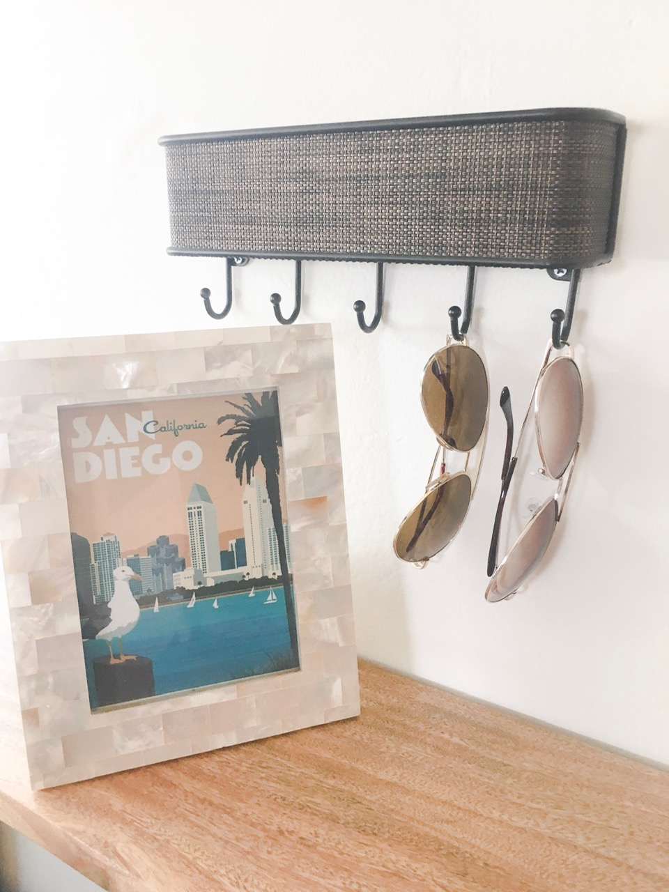 This is an example of a creative way of displaying a gift for your guests- this host is providing sunglasses in Sunny San Diego for their guests! The glasses are only $3 each, but they are very thoughtful, and will help give this host a 5 star review!