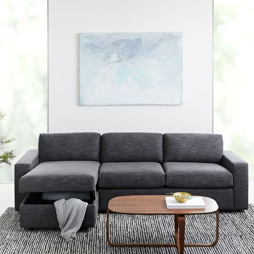 West Elm Urban Sleeper Sectional