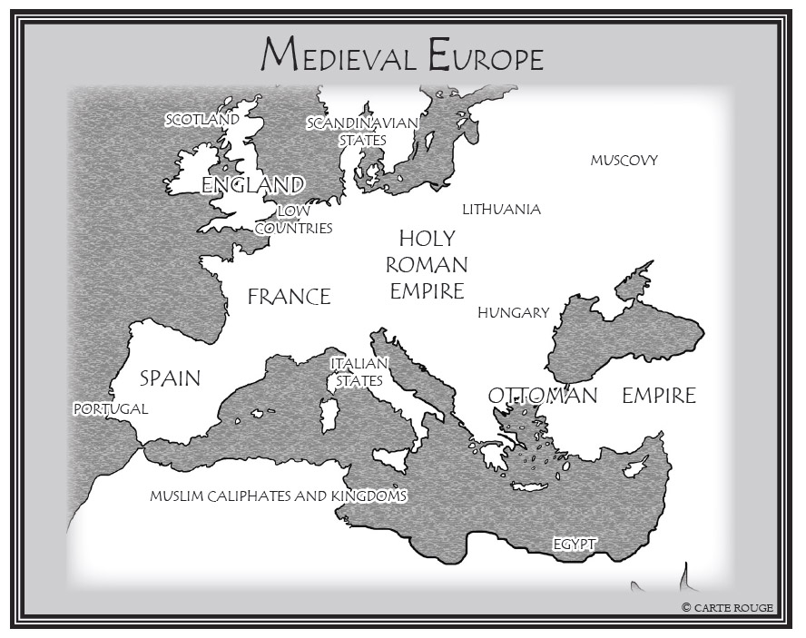 Schoonover Collection Map-Medieval Europe.jpg
