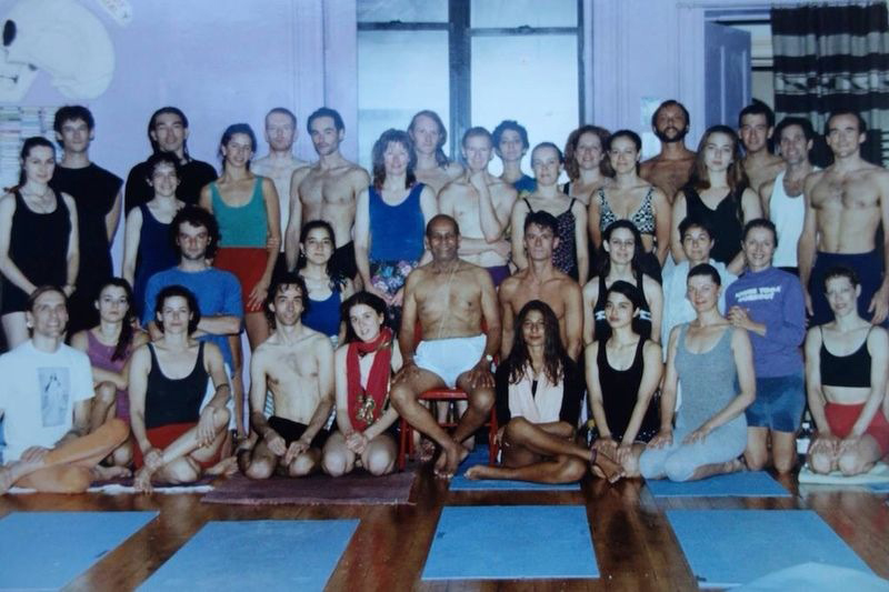 guruji and some of his early students