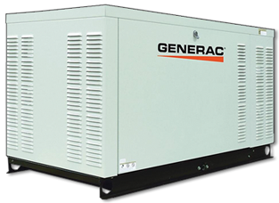 For larger homes, our Generac liquid-cooled automatic standby generator line spans from 15 kW all the way up to 150 kW. These include Diesel options as well as Natural Gas or Liquid Propane.