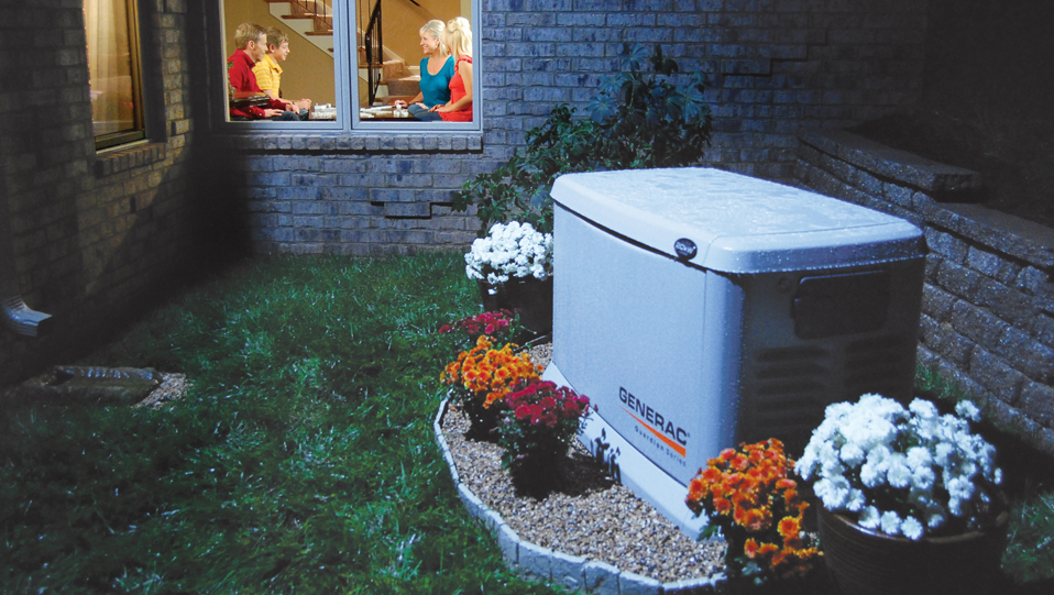 generac air cooled automatic standby generator