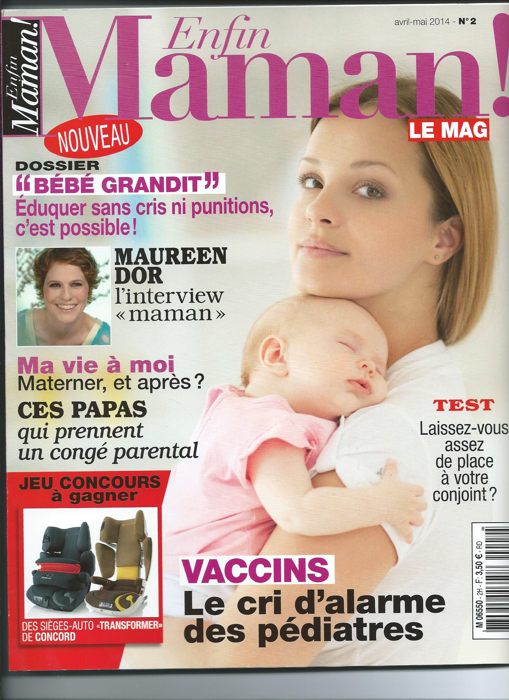 ENFIN MAMAN Couv Avril Mai 2014.jpg