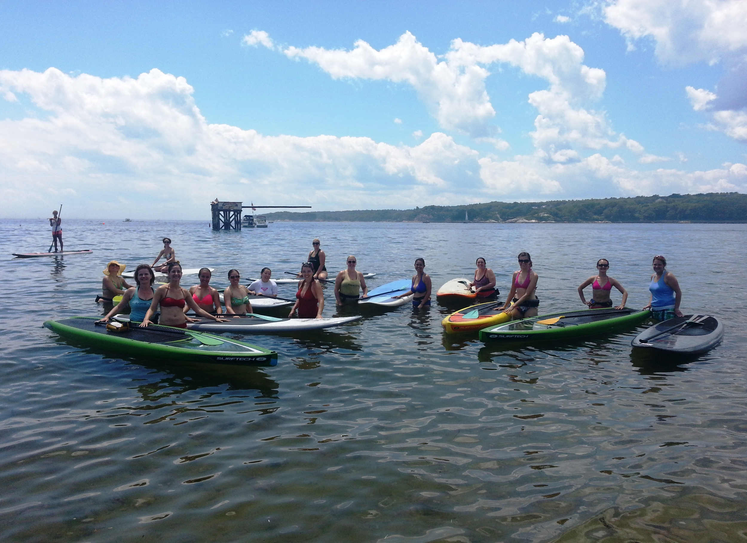 Paddleboard lessons & camps