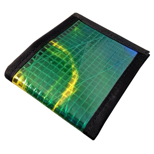 FlowFold Wallet Green