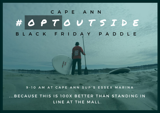 Black Friday Paddle on Cape Ann
