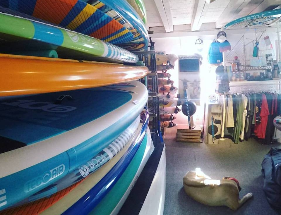 Paddleboard Shop on Boston's North Shore