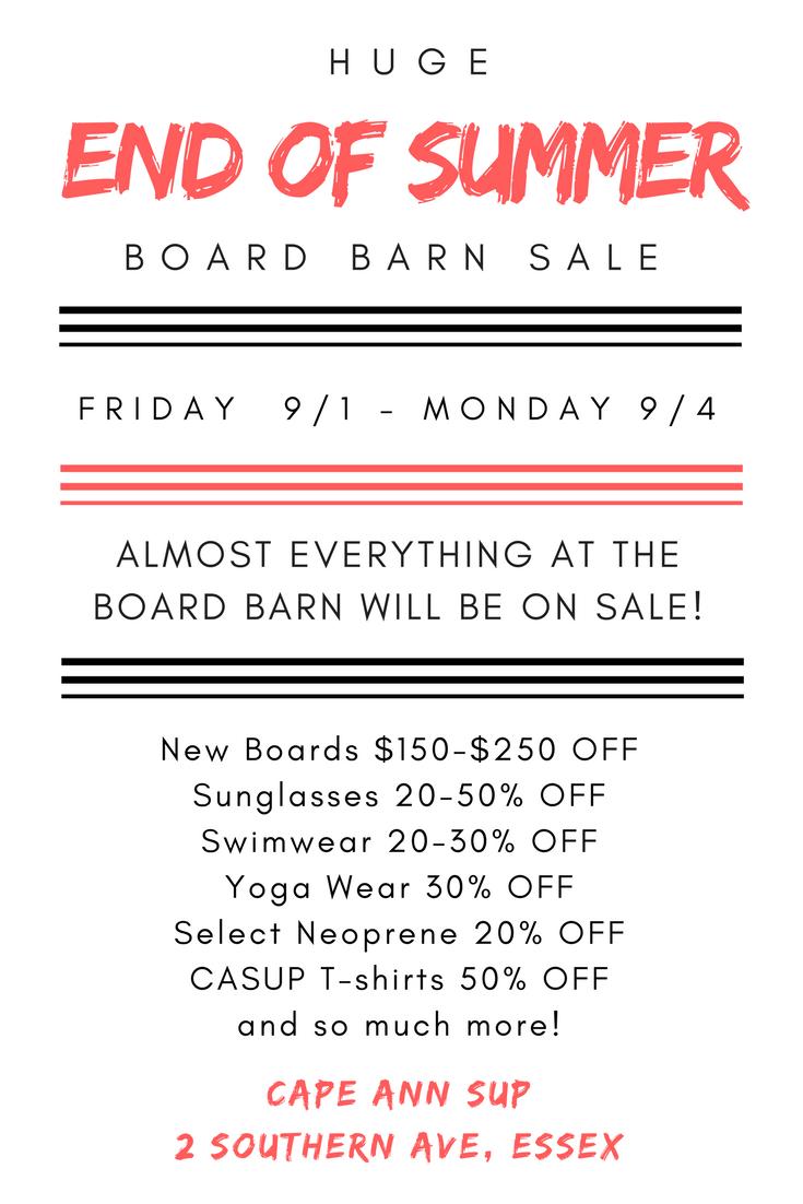 Board Barn Sale