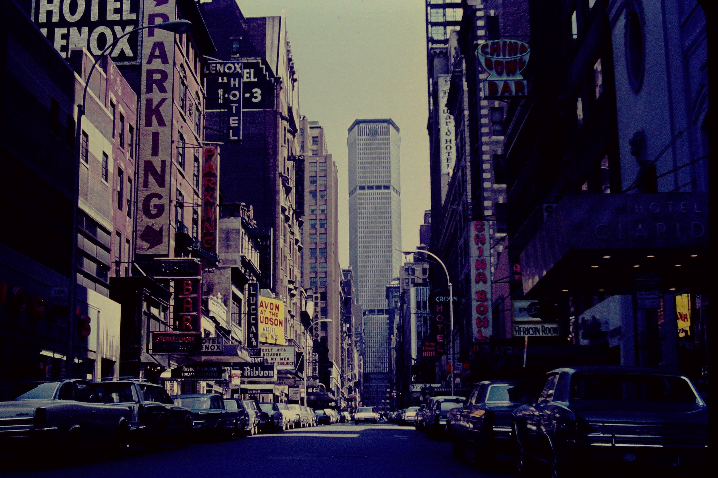 One of my dad's slides from NYC