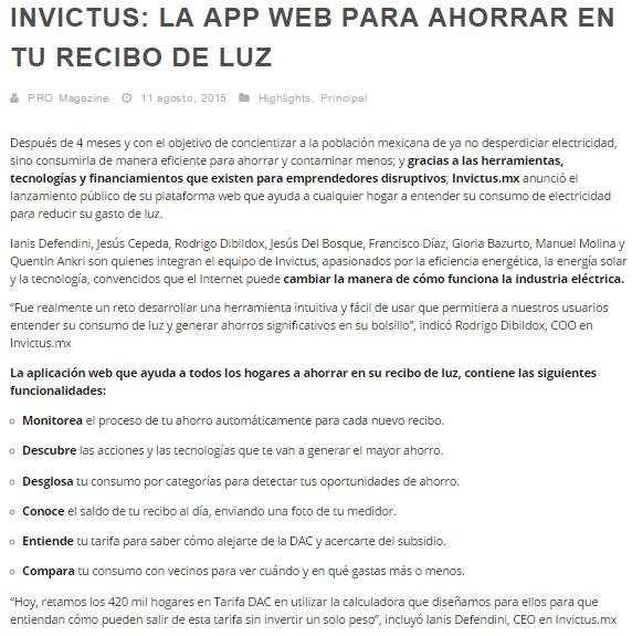 PRO Magazine Monterrey