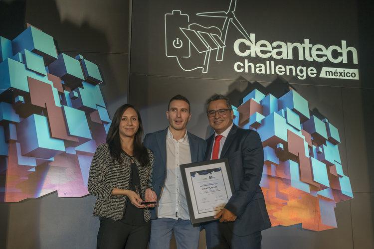 Invictus.mx 3er lugar del Clean Tech Challenge México