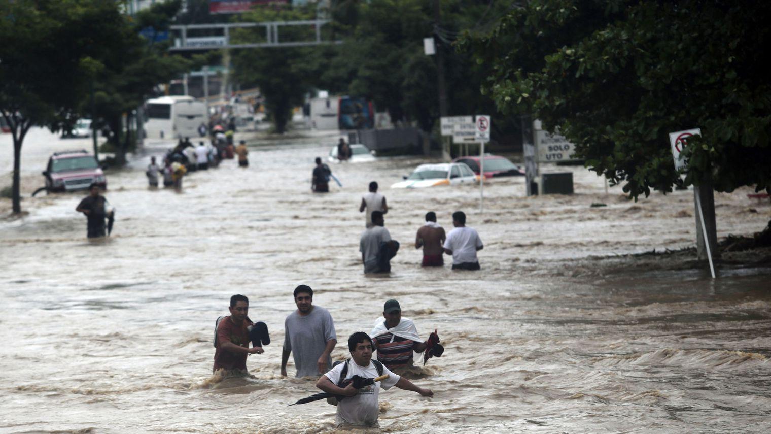 Inundaciones generadas por cambios climáticos frío calor