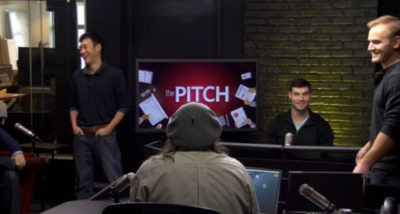 'The Pitch' - airing M-F at 3pm
