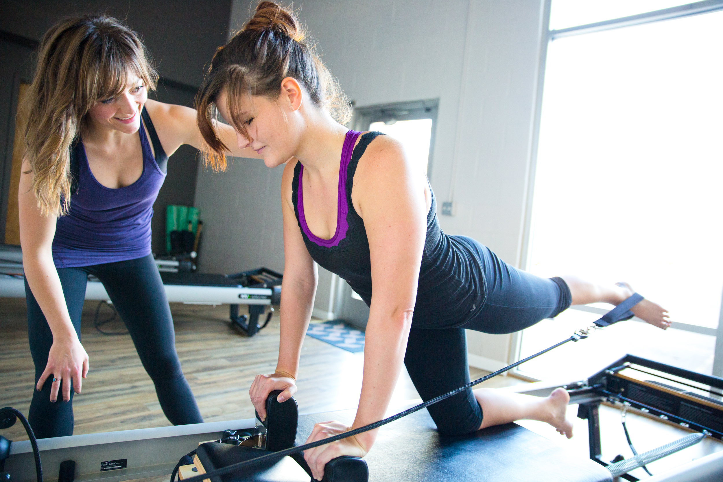 INTRO TO REFORMER PILATES    PERFECT FOR THOSE WHO ARE NEW TO THE REFORMER AND WUNDA CHAIR OR THOSE JUST NEEDING A REFRESHER COURSE. LEARN THE BASIC PRINCIPLES AND OBJECTIVES OF THE PILATES METHOD. RECOMMENDED FOR ALL NEW CLIENTS.