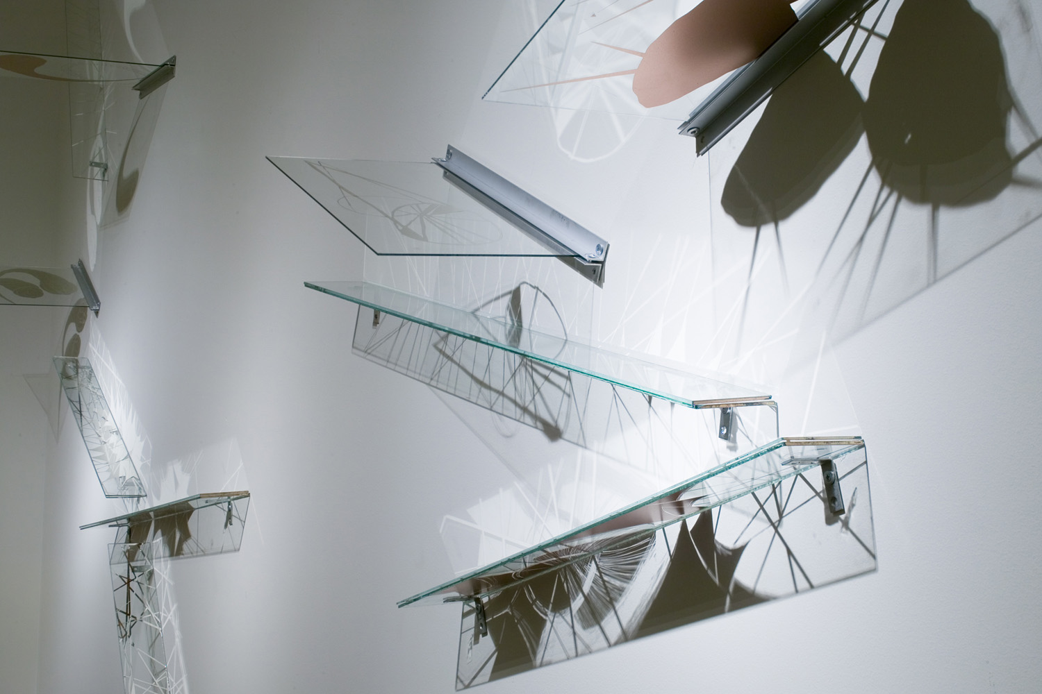 Hypnagogue, installation view detail, 2010 – SOIL at Seattle Design Center