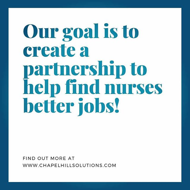 Our Company Value! . . . #values #companyculture #chapelhillsolutions #goals #nurse #nurses #jobs #healthcarejobs #value #recruiting