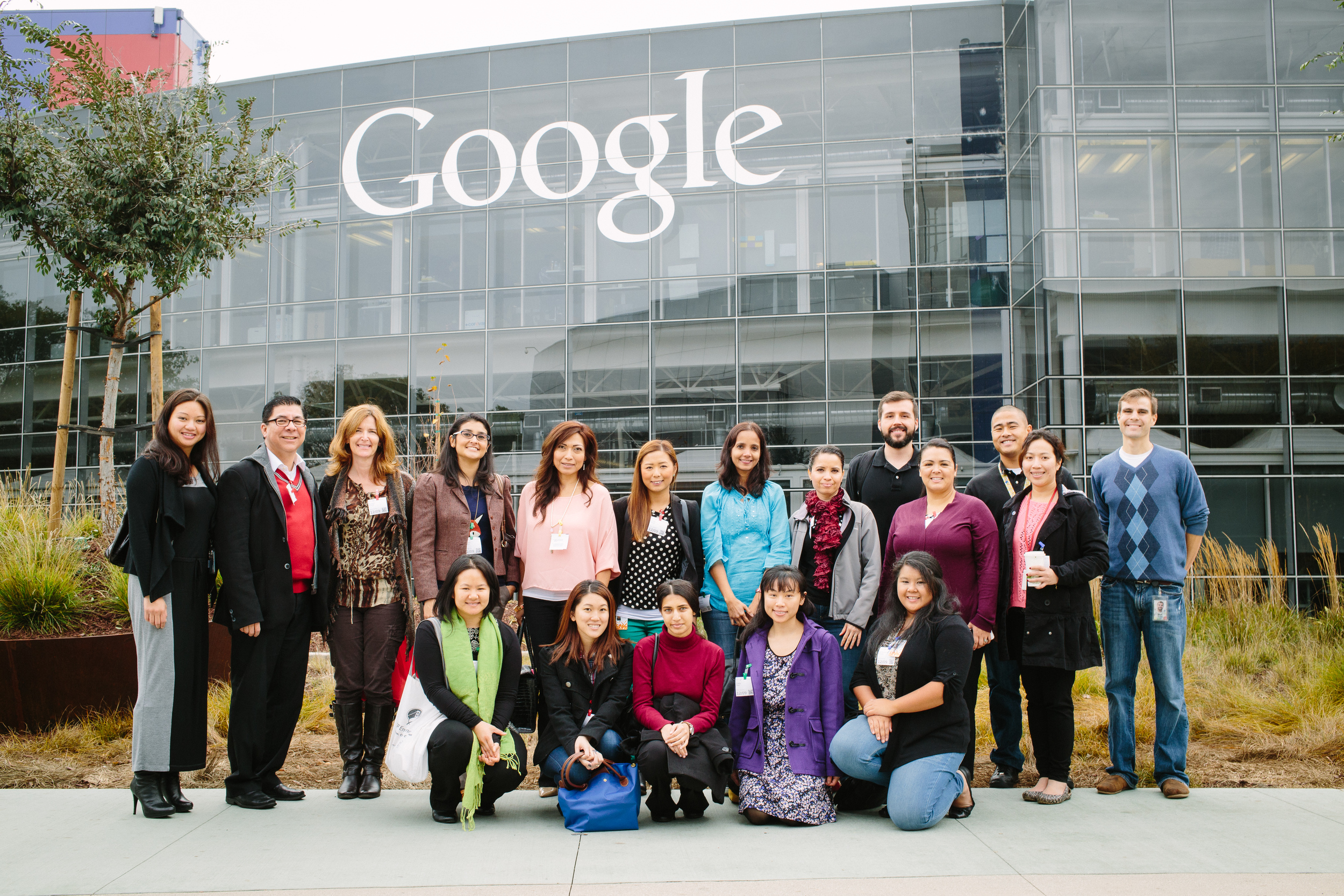 In December 2014, Googlers hosted Health Trust counterparts for a day-long session in MTV.