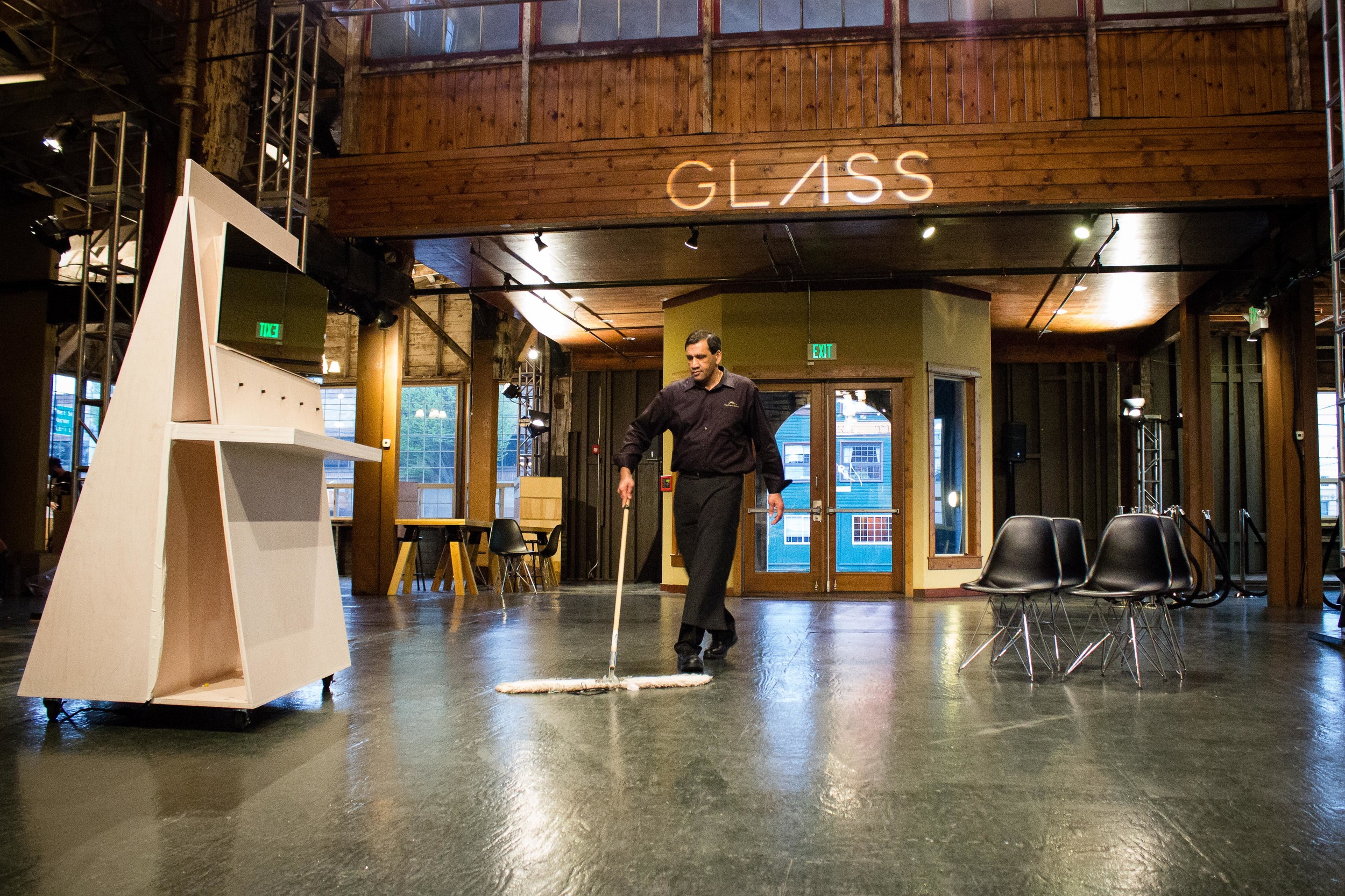 In April 2014, Glass demos and Explorer events were hosted at Seattle's Sodo Park and London Plane  - as in the past, Glass ops and external vendors worked together to ensure that things went smoothly.