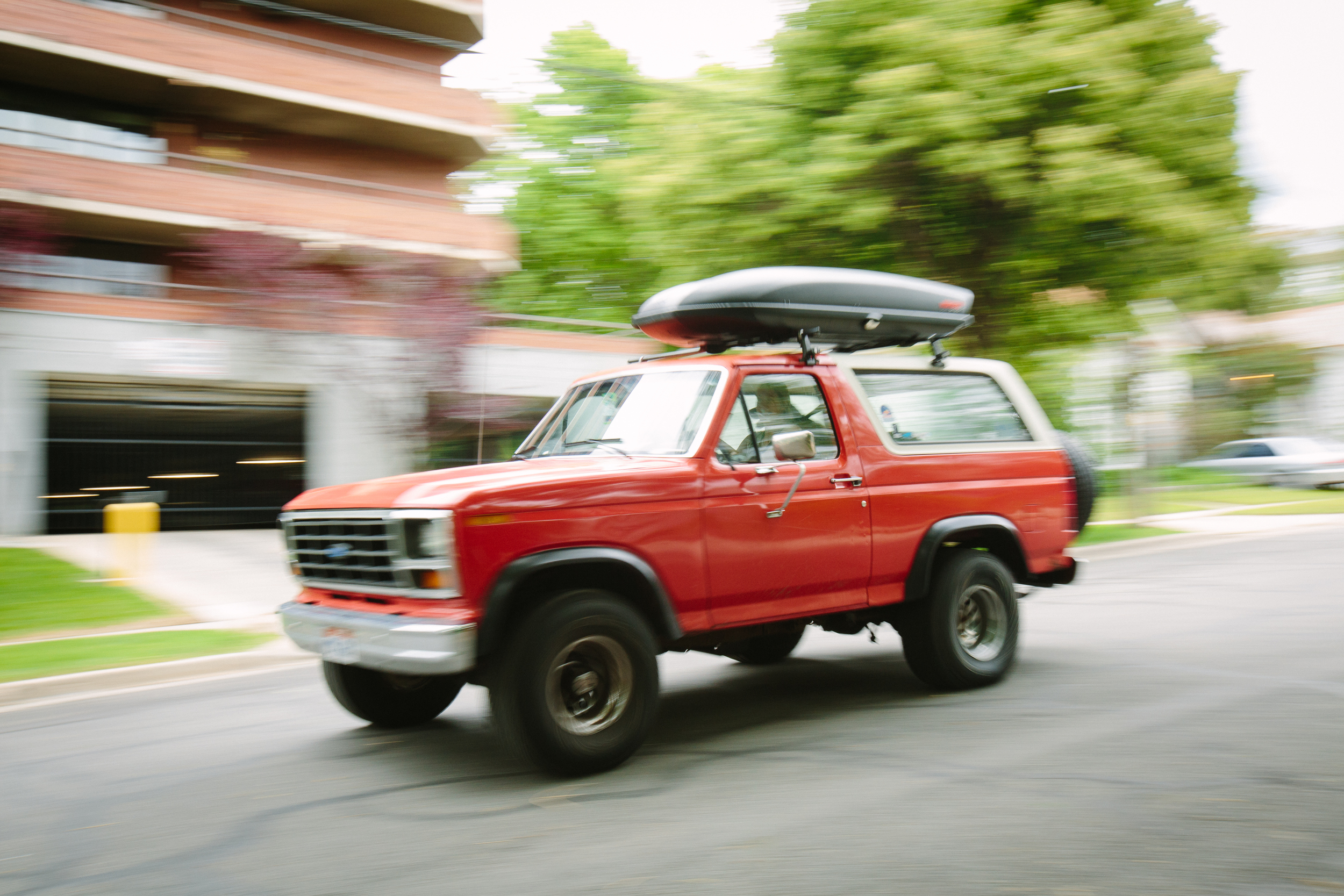 If you're arriving by car, Hannah's beloved Bronco, Bertha, might be in the driveway, butthere's plenty of easy on-street parking.