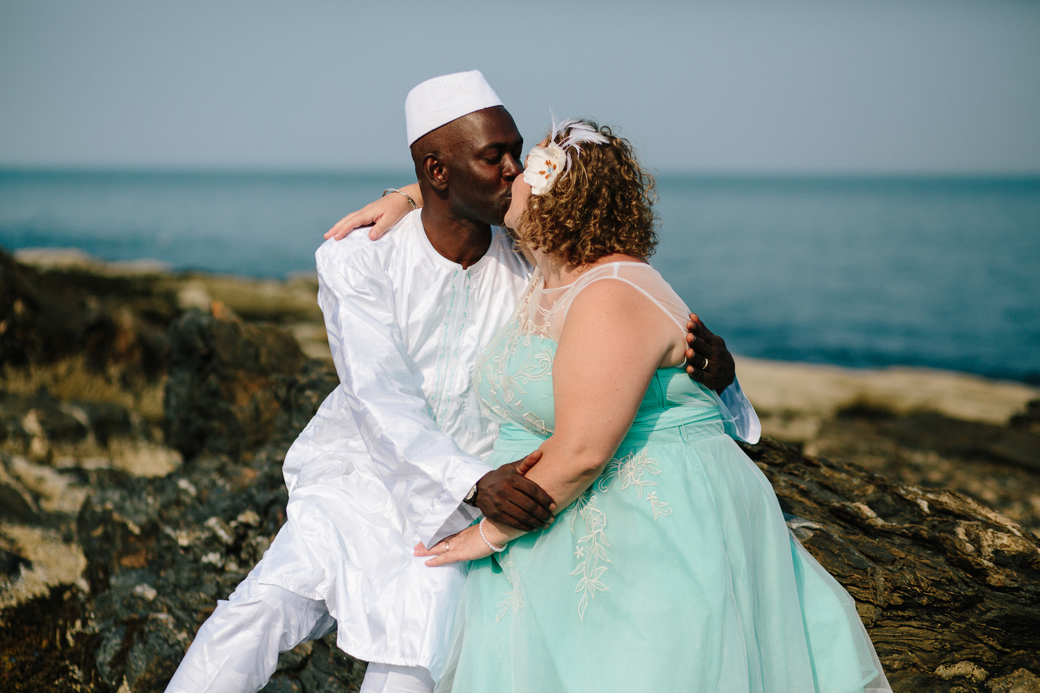 Demba and Amy - Portland, Maine