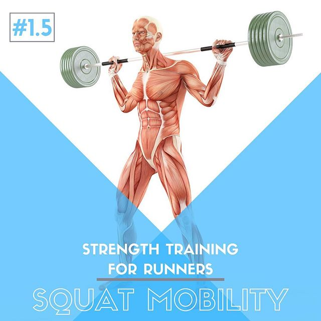 Strength Training For 🏃🏽♀️ Runners 🏃🏻 - Exercise 1️⃣•5️⃣ SQUAT 🏋️ MOBILITY 🔹 The most common response and questions to our first exercise in this series, the squat, was that many were having difficulty due to immobility and flexibility issues, and what to do about it to allow for a safe and full squat movement. 🔹 HIP MOBILITY - Hip Flexor Lunge ➡️ Frog Stretch ➡️ Posterior Hip Foam Rolling 🔹 THORACIC SPINE MOBILITY - Thoracic Extension ➡️ Quadruped Rotation ➡️ Bench Extension & Lat Stretch 🔹 ANKLE MOBILITY - Calf Muscle Foam Rolling ➡️ Ankle Dorsiflexion Lunge ➡️ Single Leg Stance #running #therunnersfix #saltlakecity #sportschiropractor