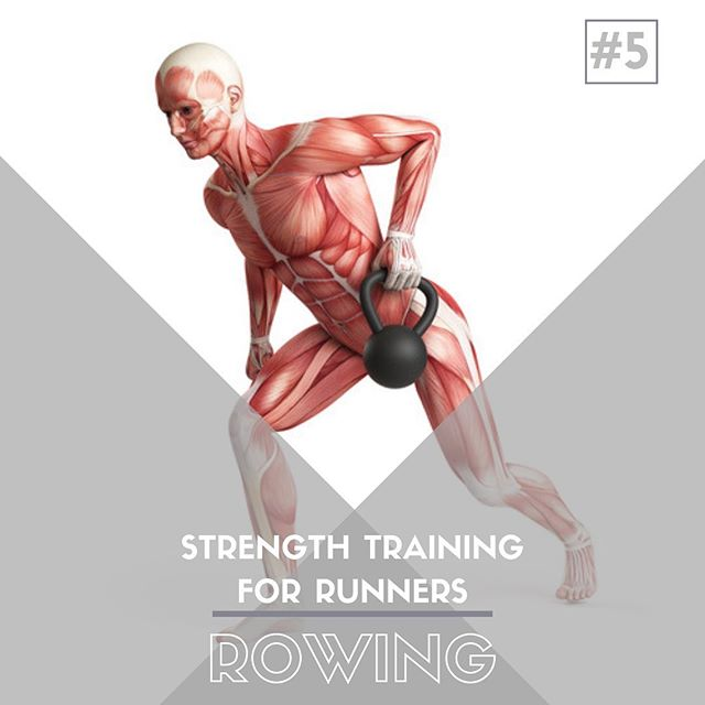 Strength Training For Runners - Exercise #5 - Rowing⁣ ⁣ Rowing movements, and back strength in general, are extreme important for runners.  A strong back can help with:⁣ ⁣ - Posture & form maintenance in the late stages of a race.⁣ ⁣ - Repiratory & energy efficiency to run 🏃🏽‍♀️ faster 💨 and farther.⁣ ⁣ - Prevention of the 'runner's upper back hump' later in life.⁣ ⁣ - Ability to rep out pull-ups like no ones business...impressive!⁣ ⁣ Back muscles are often neglected...let's be honest, the beach 🏖 muscles are more fun to work (chest & biceps 💪🏼), but having a strong back will not only make you a better runner, it will help you in everyday life and help you age well. #runningstrength #saltlakecity #sportschiropractic
