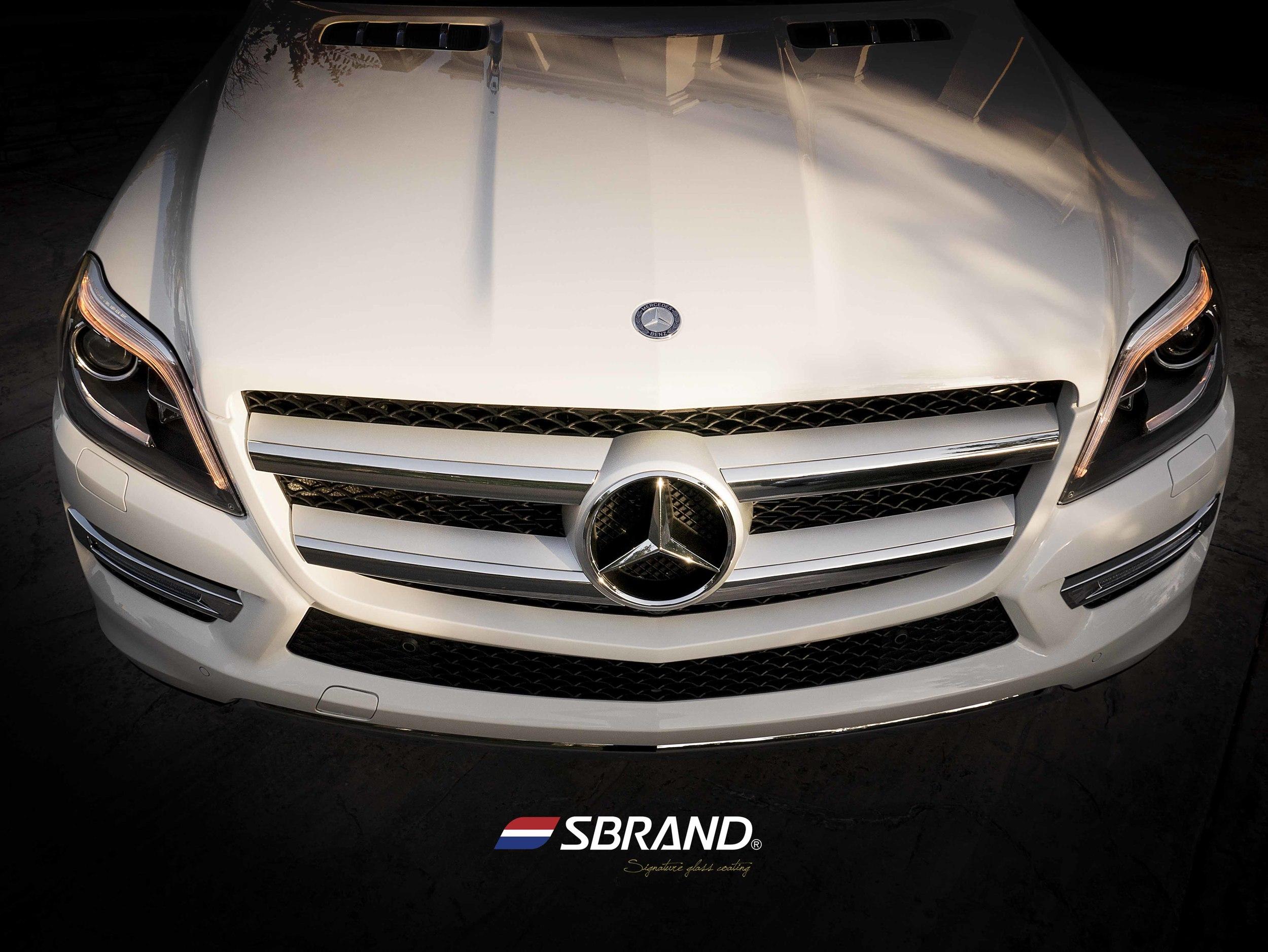 SBRNAD Signature Glass Coating Mercedes