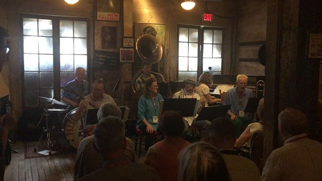 We are very happy to host New Orleans Traditional Jazz camp for their 10 year anniversary! #tradjazz #protectpreserveperpetuate