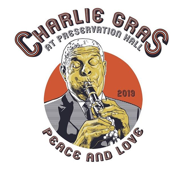 Preservation Hall is proud to present CHARLIE GRAS, a musical celebration of New Orleans' own Charlie Gabriel, on Tuesday, July 9t h at 10 pm . Gabriel, who has been dazzling audiences at Preservation Hall since 1984, will turn a youthful 87 years old on July 11t h .  Proceeds from Charlie Gras will benefit the full scope of@preshallfoundation's programming. Doors are at 10, the show starts at 10:15! Get your tickets now via #linkinbio