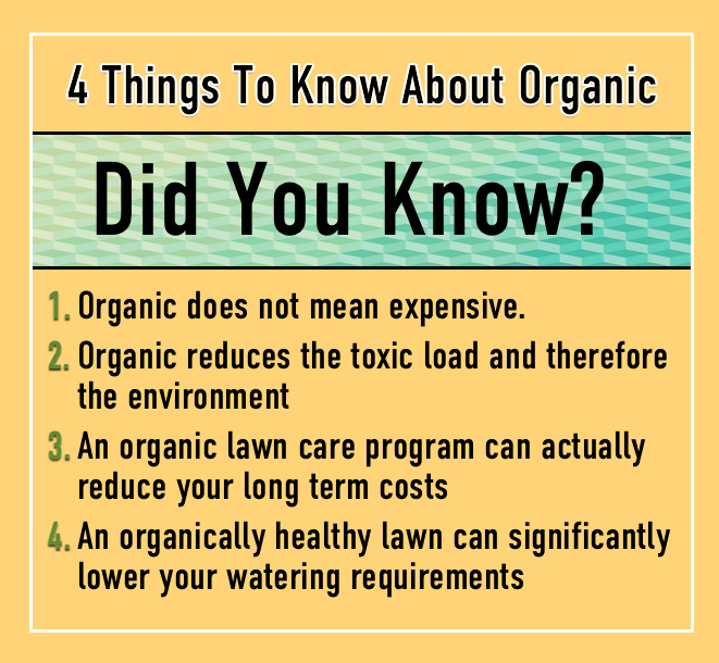WHY ORGANIC LAWN CARE? | 4 Things To Know About Organic Lawn Care | HILLSIDE LANDSCAPING CO. | BERLIN, CT