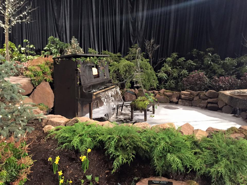 Landscape Design | Piano Waterfall