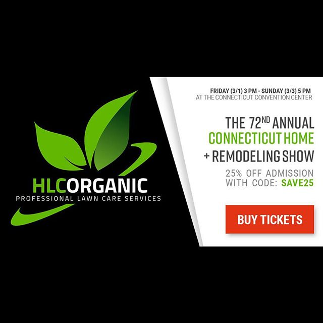 Come visit our HLC team this weekend at the state's largest Home + Remodeling Show for residents of CT! Featuring hundreds of exhibits from local vendors, including products and services for the home + yard. . . #cthomeshow #ctconventioncenter #organiclawncare #ctlandscaping #ecofriendly #nochemicals #sustainablelandscaping #hlcorganic
