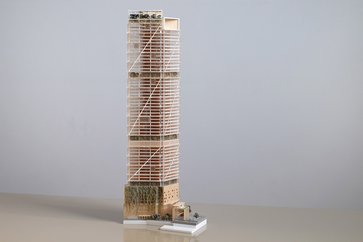 1:500 Architectural model for BVN Donovan Hill