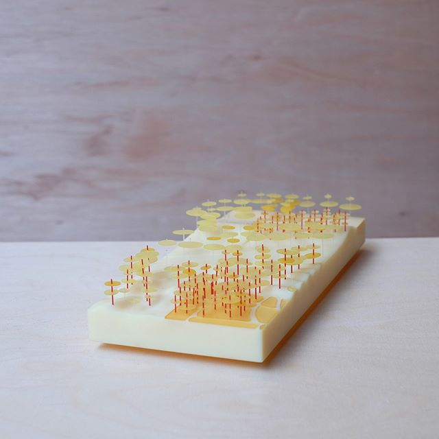 A scaled landscape topography model. Sometimes we feel the need to keep things simple, and express the quality of plain raw materials.  #modelmaking #architecture #architecturemodel #architecturalmodel #landscape #landscapedesign #landscapemodel #topography  #landscapearchitecture #publicdomain #cityplanning #landscapearchitect #cnc #absplastic #softplastics #rawmaterial #beauty #lasercut #acrylics #designstrategy #planting #kinkstudio #madeinmarrickville #sydneyarchitecture #mustard #yellow #bright #xt1 #fujixt1