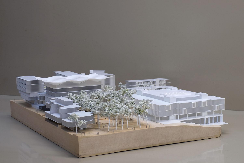 Macquarie University 1:500 presentation model