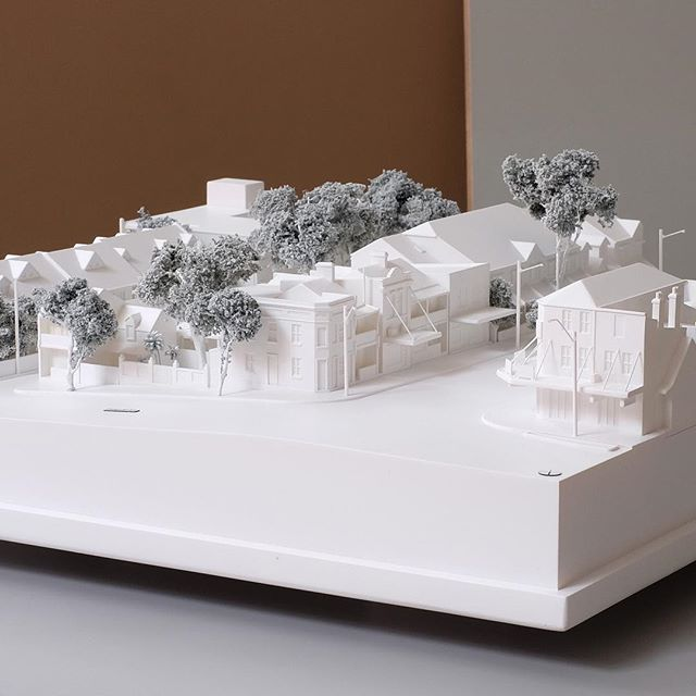 A site in Waterloo. #modelmakers #marrickville #context #sydneyarchitecture #kinkfab #3dprint